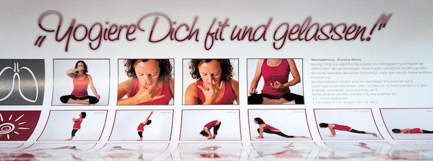 FrauSeele Yoga-Poster