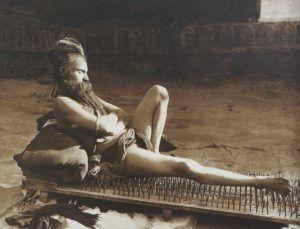 Foto: Ein Fakir in Benares, Herbert Ponting, 1907