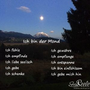 FrauSeele Siebte Rauhnacht Mond