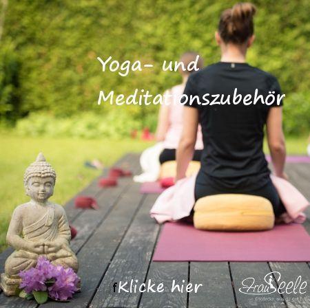 Yoga- und Meditationszubehör