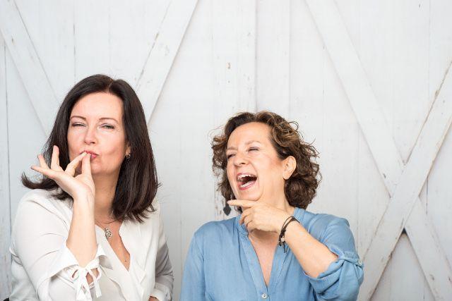 Bettina und Sabine die Frauen hinter FrauSeele