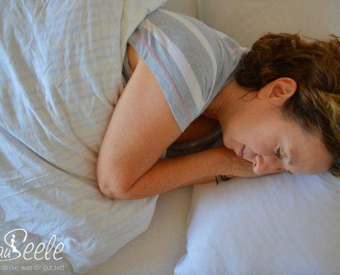 FrauSeele Bild Schlafprobleme in den Wechseljahren