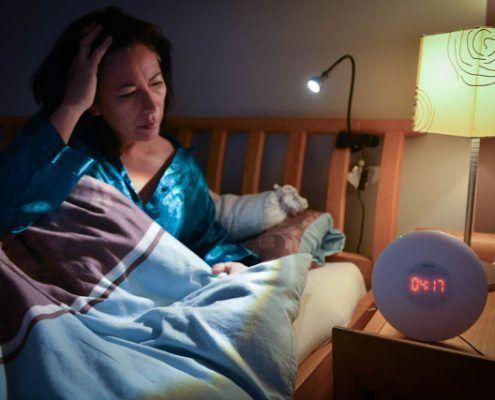 FrauSeele Schlafprobleme in den Wechseljahren