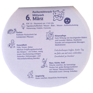 FrauSeele Neumond Fasten Lutzis Mondkalender